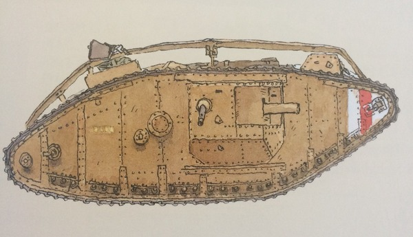 ガールズ&パンツァー最終章、マークIV戦車