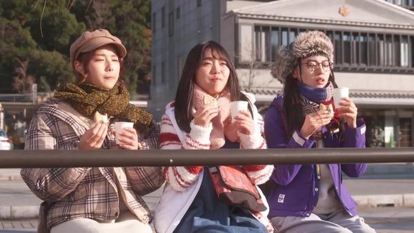 ドラマ版「ゆるキャン△」第8話感想 画像 なでしこキャンプグッズもお饅頭も欲しい!しまりん通行止めでションボリ、冬は何でもお茶が美味しい!!(実況まとめ)