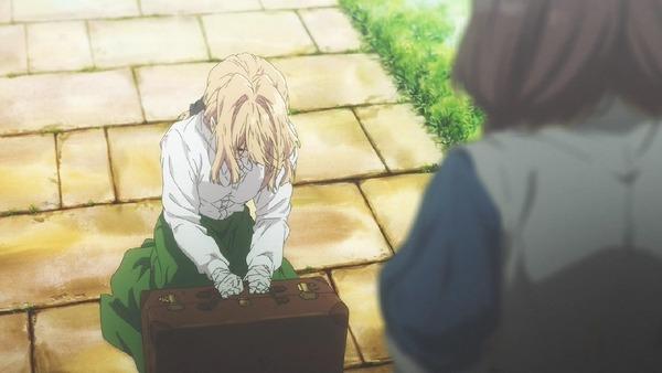 「ヴァイオレット・エヴァーガーデン」1話 (18)