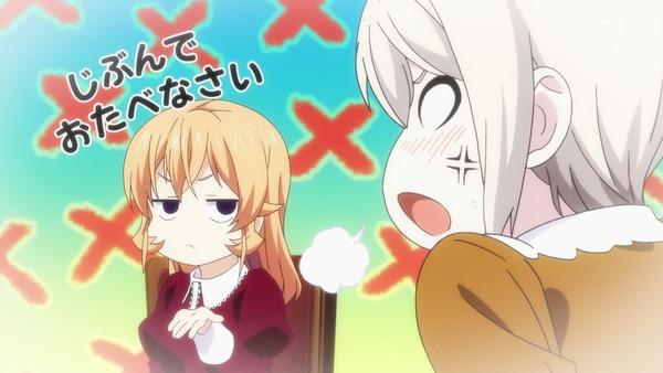 「食戟のソーマ 餐ノ皿(3期)」6話感想 えりなが歪んだ理由は父の洗脳?アリスの手引きで家出!面白可愛くなってきた!!(画像)