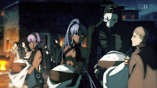 「FateGrand Order 絶対魔獣戦線バビロニア」FGO 2話感想 (51)