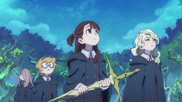 「リトルウィッチアカデミア」25話 (2)