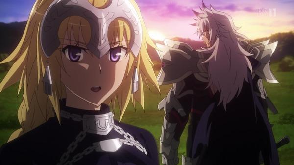 「Fate/Apocrypha」3話感想 ジャンヌを襲撃するカルナVSジークフリートの交戦!アストルフォ英雄可愛すぎる!!(画像)