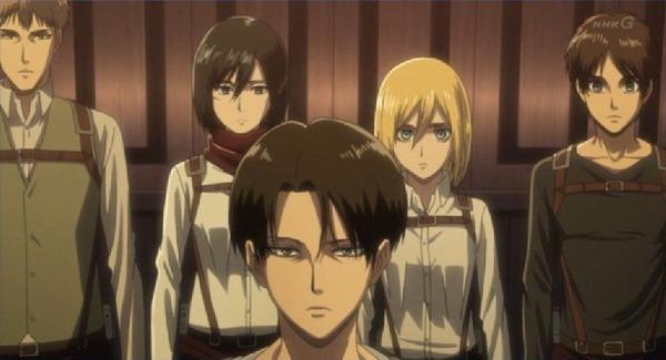 「進撃の巨人 Season3」(3期 8話)45話感想 (50)