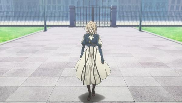 「ヴァイオレット・エヴァーガーデン」8話 (7)