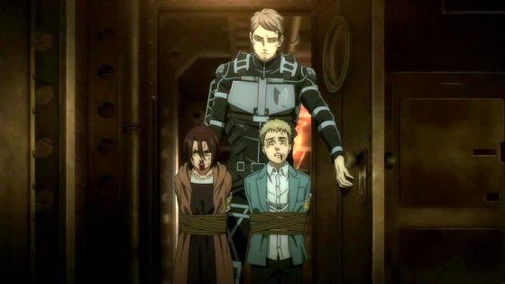 「進撃の巨人」67話(4期 8話)感想  (140)