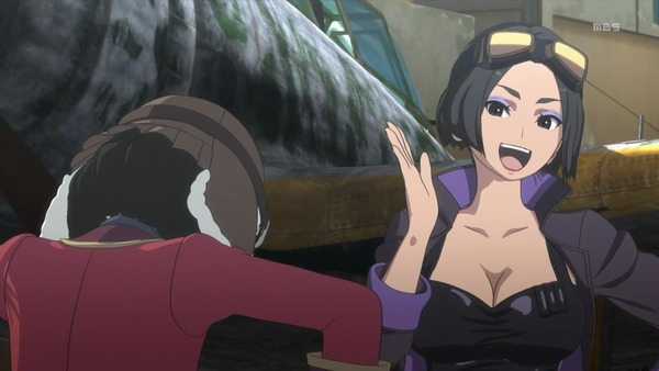 「荒野のコトブキ飛行隊」10話感想 (48)