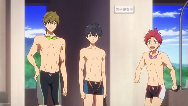 「Free! Dive to the Future」3期 2話感想 (15)