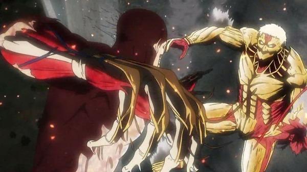 「進撃の巨 2000 人 Season2」31話感想 鎧の巨人&超大型巨人の正体が明らかに!演出もキャストの演技も満足、期待通り面白い!!(画像「2期 6話」