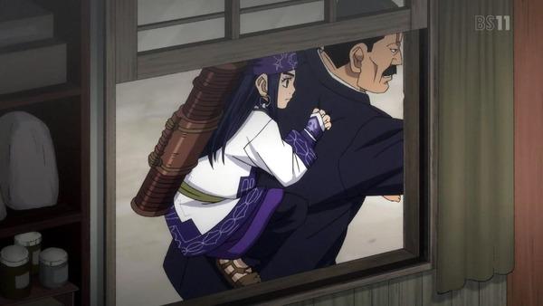 「ゴールデンカムイ」15話(2期 3話) (24)