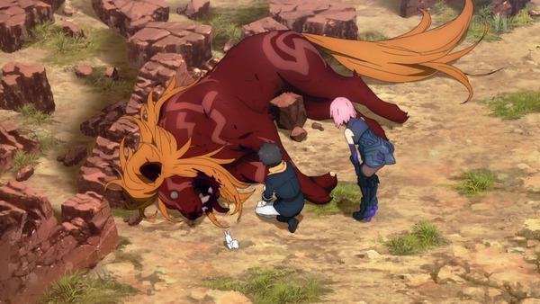 「FateGrand Order 絶対魔獣戦線バビロニア」FGO 1話感想 (25)