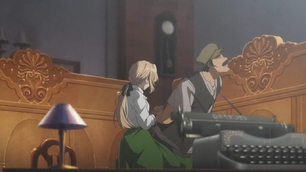 「ヴァイオレット・エヴァーガーデン」2話 (30)