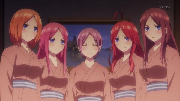 「五等分の花嫁」第9話感想 林間学校はトラブルからスタート!五つ子と同じ部屋でも風太郎は平然と眠る!!(画像)