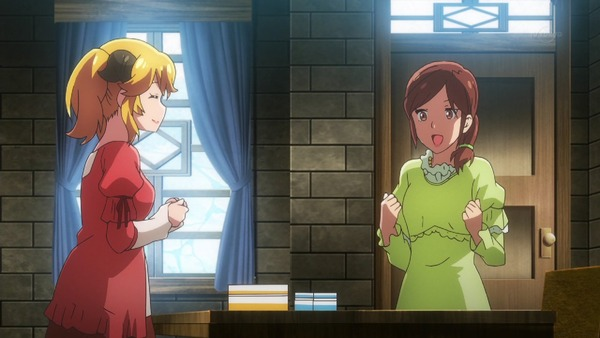 「異世界食堂」8話感想 人魚も大好きハンバーグ!正直アレッタさんクッキーでメンチカツ妹の信頼を得る!! (画像)