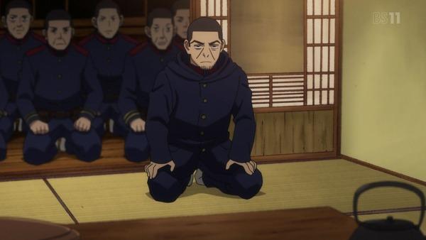 「ゴールデンカムイ」15話(2期 3話) (100)