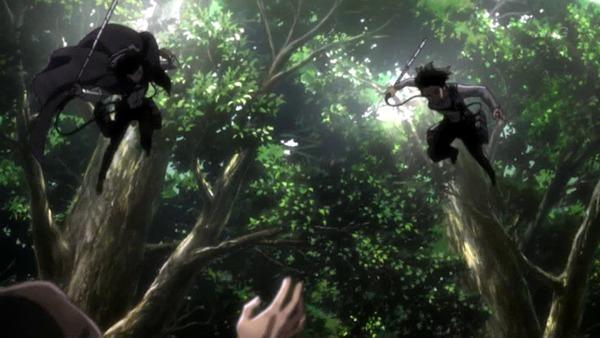 「進撃の巨人 Season3」(3期 4話)41話感想 (8)