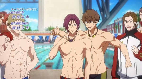「Free! Dive to the Future」3期 1話 (10)