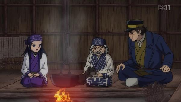 「ゴールデンカムイ」3話感想 (120)