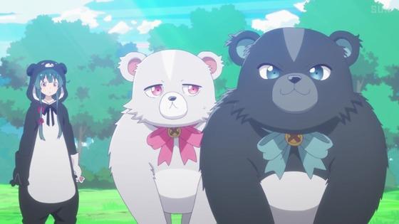 「くまクマ熊ベアー」第6話感想 画像 (33)