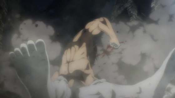 「進撃の巨人」65話(4期 6話)感想  (50)