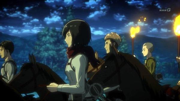 「進撃の巨人 Season3」(3期 9話)46話感想 (2)