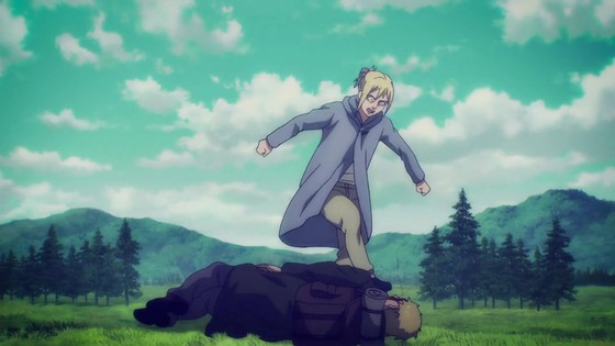 「進撃の巨人」62話(4期 3話)感想 (117)