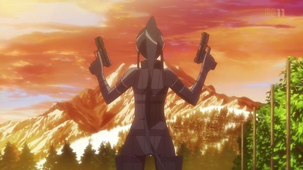 「SAO ガンゲイル・オンライン」10話感想 (11)