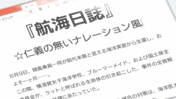「ハイスクール・フリート(はいふり)」OVA前編 (4)