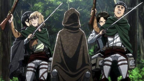 「進撃の巨人 Season3」(3期 4話)41話感想 (9)