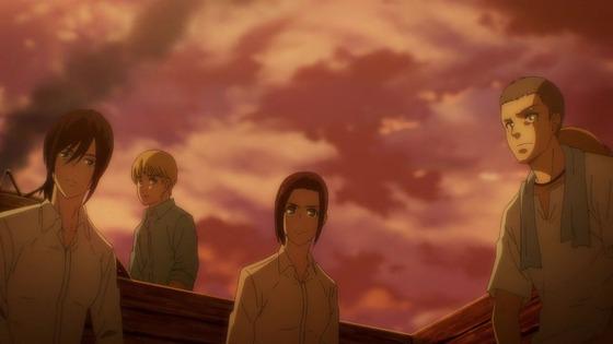 「進撃の巨人」69話(4期 10話)感想 (117)