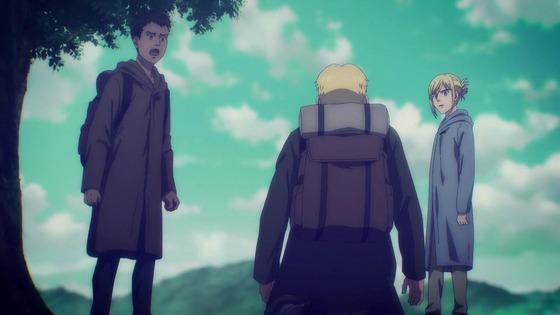 「進撃の巨人」62話(4期 3話)感想 (110)
