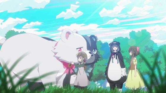「くまクマ熊ベアー」第6話感想 画像 (18)