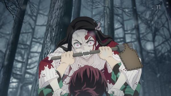 「鬼滅の刃」第1話感想  (17)