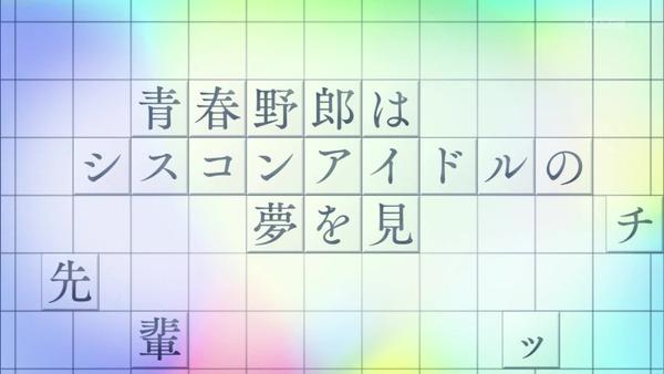 「青春ブタ野郎」9話感想 (16)