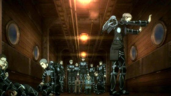 「進撃の巨人」67話(4期 8話)感想  (123)