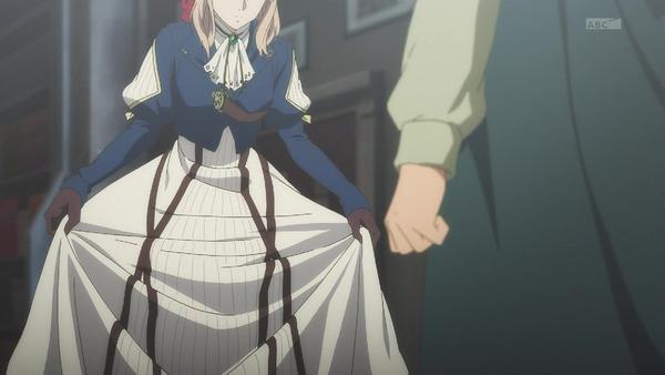 「ヴァイオレット・エヴァーガーデン」6話 (11)