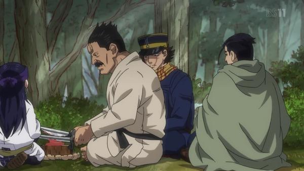「ゴールデンカムイ」15話(2期 3話) (61)
