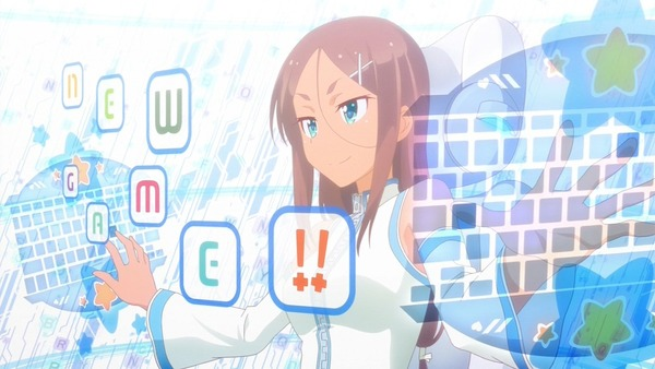 「NEW GAME!!」2期 3話
