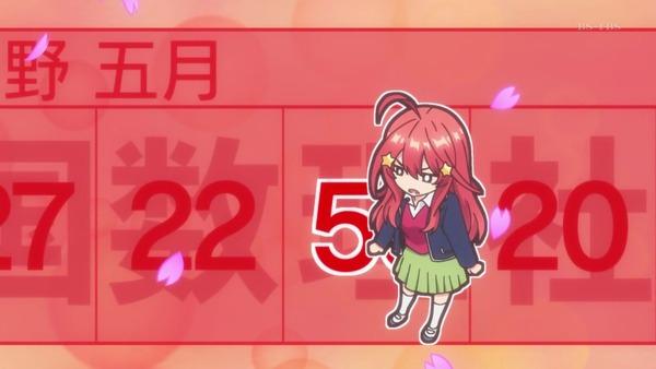 「五等分の花嫁」第7話感想 (50)