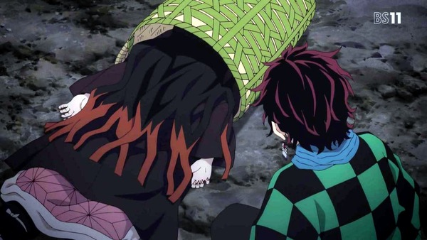 「鬼滅の刃」2話感想 (13)