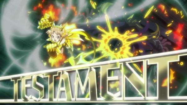 「戦姫絶唱シンフォギアAXZ」4期 13話感想 黄金に輝く響のオラオララッシュ!言われ続けて未来は5期のラスボスに!?(最終回、画像)