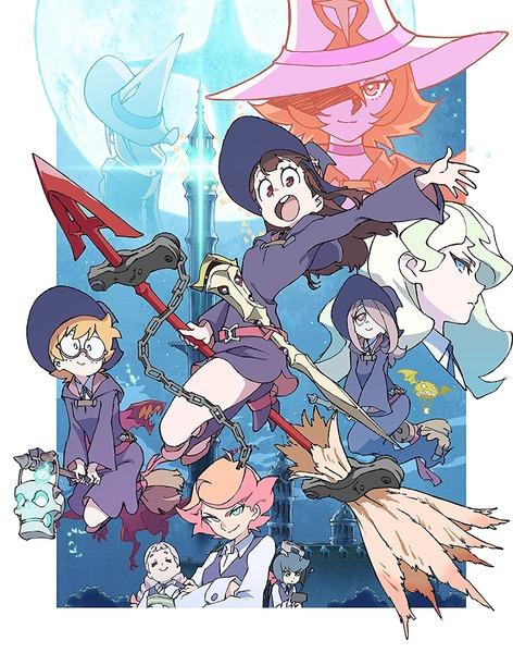 「リトルウィッチアカデミア」Blu-ray全9巻予約受付開始!限定版特典はアッコ、ロッテ、スーシィの描き下ろしキャンバスアート!!