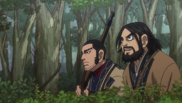「ゴールデンカムイ」13話(2期 1話)感想 (94)