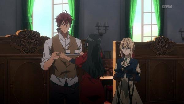 「ヴァイオレット・エヴァーガーデン」4話 (5)