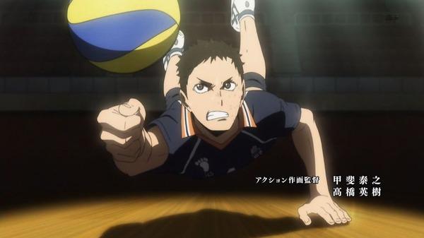 「ハイキュー!! 烏野高校VS白鳥沢学園高校」 (5)