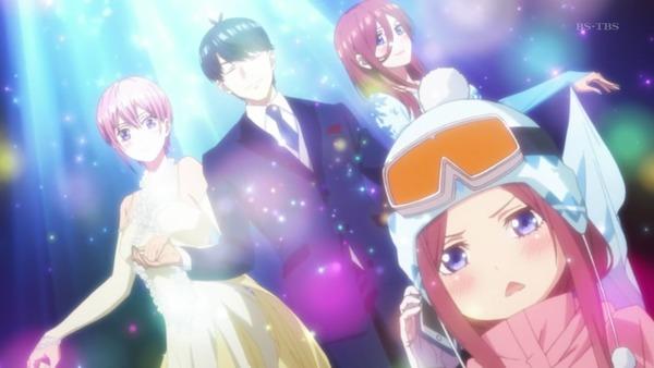 「五等分の花嫁」第12話感想  (2)