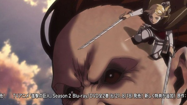 「進撃の巨人 Season2」37話 (4)