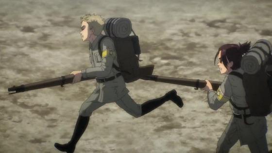 「進撃の巨人」63話(4期 4話)感想 実況まとめ  (39)