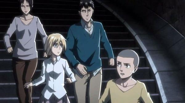 「進撃の巨人 Season2」29話 (27)