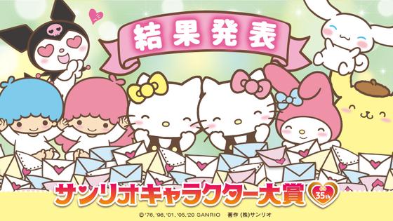 「サンリオキャラクター大賞」 (1)